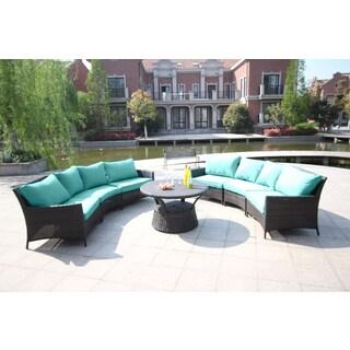 Kipling 7-piece Gathering Sectional Seating Set