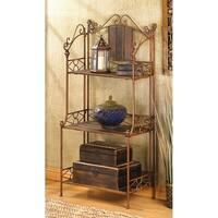 Durable Rustic 3-shelf Baker's Rack