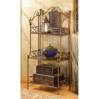 Durable Rustic 3-shelf Baker's Rack