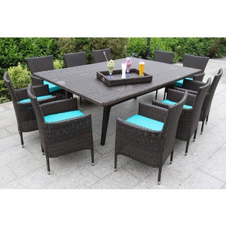 Kipling 11-piece Dining Set Featuring Polyester Fabric