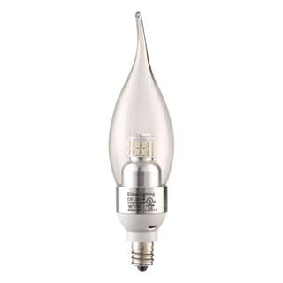 Elegant Lighting Elitco S30 C35 4-Watt 3000K E12 Clear Candle LED Bulb