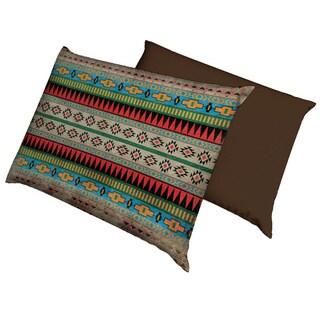 Aztec Pattern Fleece Dog Bed