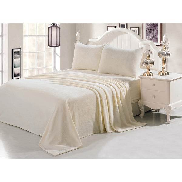De Moocci Velvet Soft Queen Sheet Set