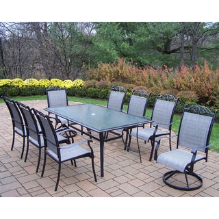 Aluminum Sling 9-piece Dining Set