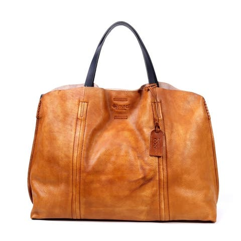 Old Trend Forest Island Large Genuine Leather Tote by  Design