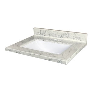 Arctic Stone Cultured Marble Vanity Top