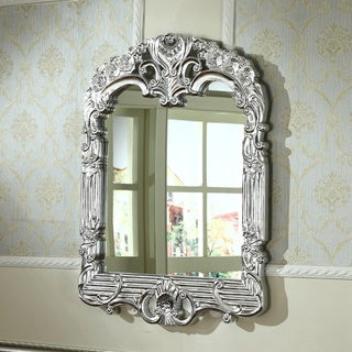 Infurniture Traditional Style Rectangular Wall Mirror