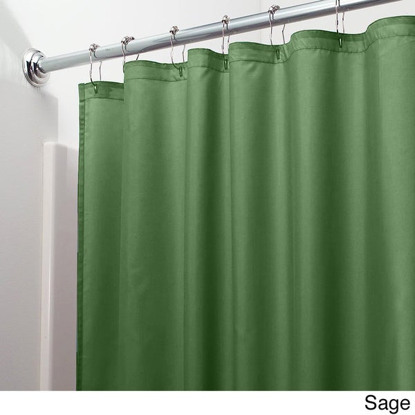 Mildew Free Water Repellent Fabric Shower Curtain Liner   Free Shipping On  Orders Over $45   Overstock.com   18059842