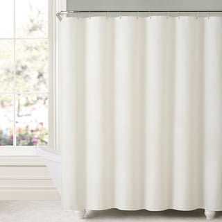 Mildew-free Water-repellent Fabric Shower Curtain Liner