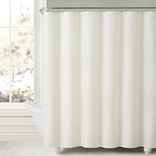 Mildew-free Water-repellent Fabric Shower Curtain Liner (5 options available)
