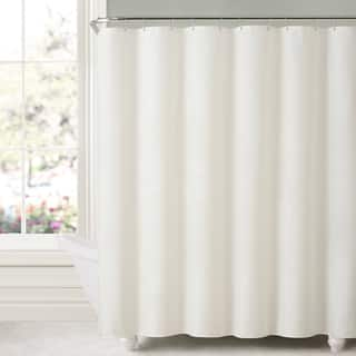 bathroom shower curtains. Mildew Free Water Repellent Fabric Shower Curtain Liner  More Options Available Curtains For Less Overstock Vibrant Bath
