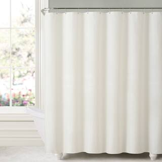 Mildew Free Water Repellent Fabric Shower Curtain Liner