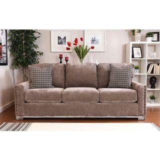 Bombay Watertown Pewter Oversized Sofa