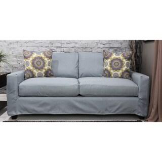 Bombay Hornell Knockdown Sofa with Azure Slipcover