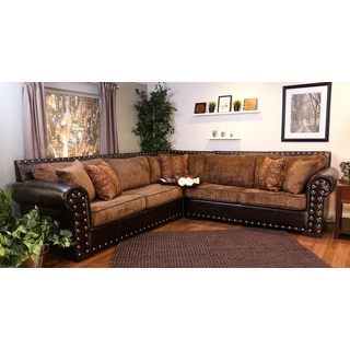 Bombay Ulster Chocolate Sectional