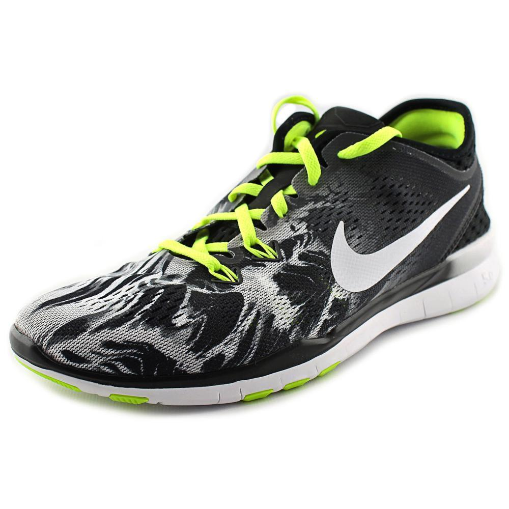 Nike Women's 'Free 5.0' Synthetic Athletic (6), Black