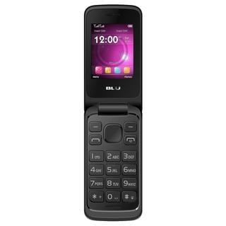 BLU Diva Flex 2.4 T350 Unlocked GSM Dual-SIM Flip Cell Phone - Retail Packaging