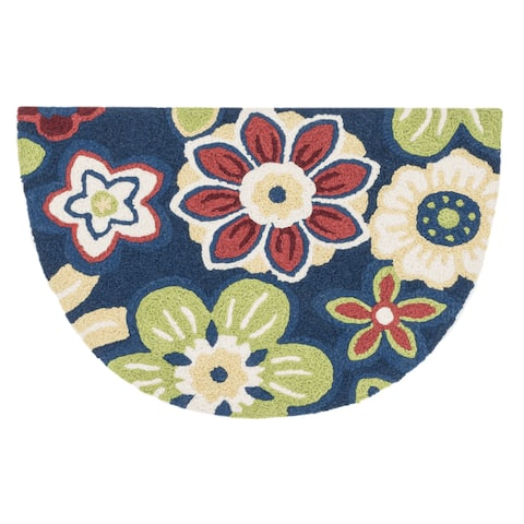 Alexander Home Hand-hooked Marcy Blossom Rug