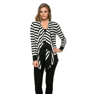 High Secret Women's Striped Cardigan