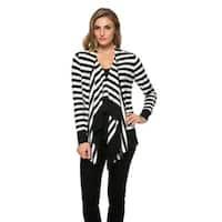 High Secret Women's Striped Cardigan