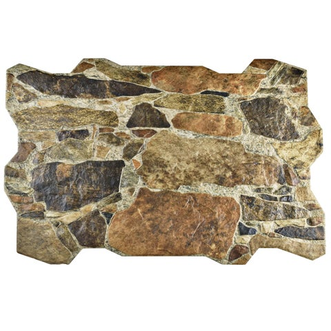 SomerTile 15.75x23.75-inch Ramble Arena Porcelain Floor and Wall Tile (30 tiles/78.05 sqft.)