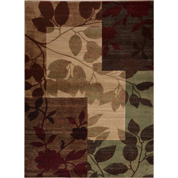 """Home Dynamix Tribeca Collection HD5282-999 Multicolored Area Rug - 9'2"""" x 12'7"""""""
