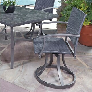 Cumberland Stone Outdoor Swivel Chairs by Home Styles
