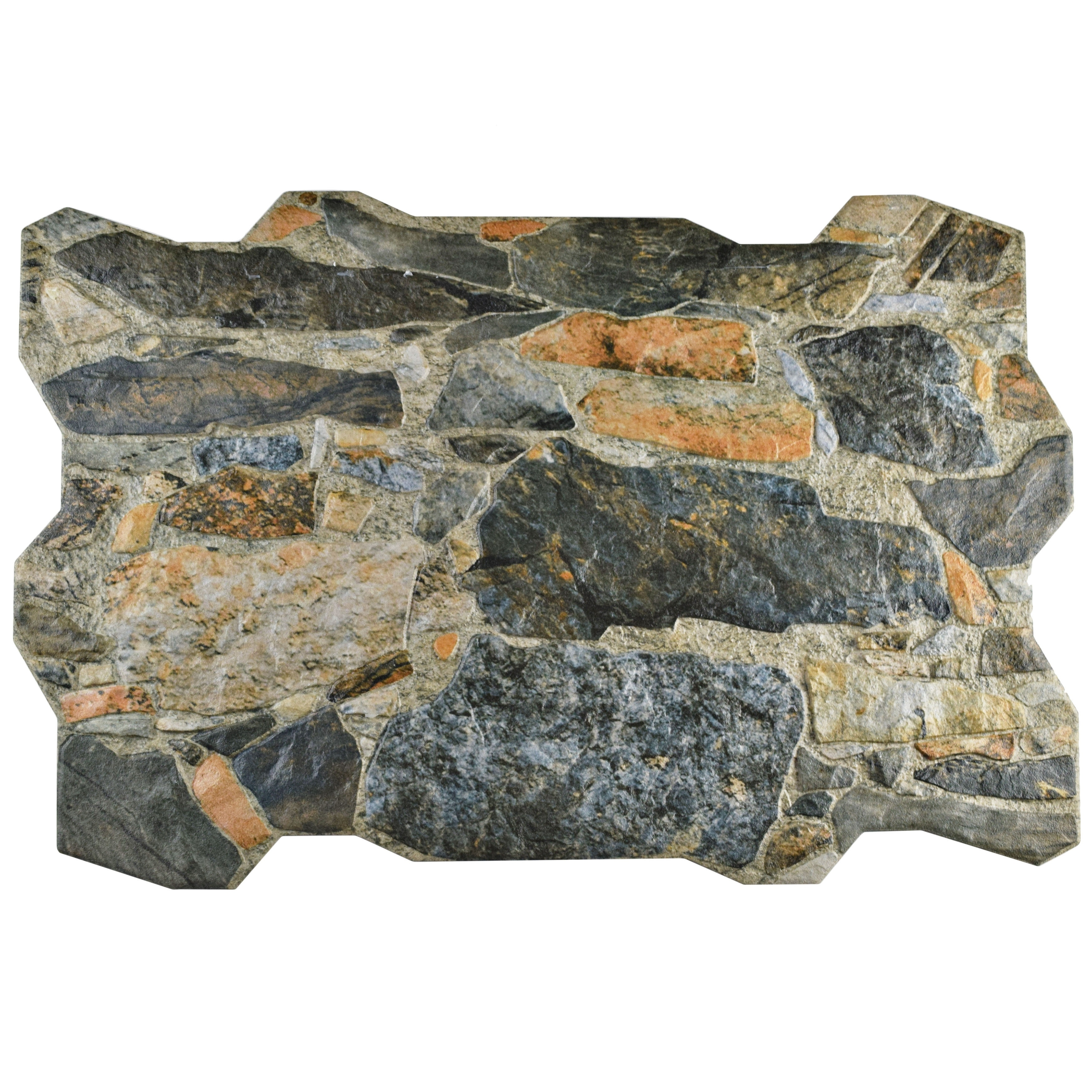 Somertile Ramble Mica Porcelain Floor and Wall Tile (Pack...
