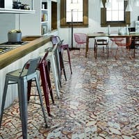SomerTile 13x13-inch Hidraulic Ceramic Floor and Wall Tile (11 tiles/13.13 sqft.)