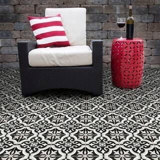 SomerTile 7.75x7.75-inch Cavado Classic Ceramic Floor and Wall Tile (25 tiles/11.11 sqft.)