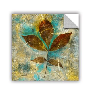 ArtAppealz Elena Ray 'Branch With Golden Leaves' Removable Wall Art