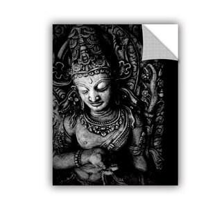 ArtAppealz Elena Ray 'Buddha' Removable Wall Art
