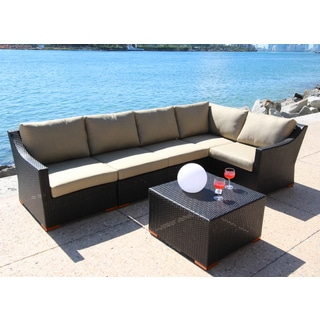 Anne 6-piece Conversation Sectional Seating Set
