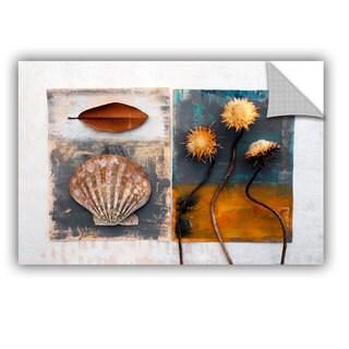 ArtAppealz Elena Ray 'Conch, Magnolia, Thistle' Removable Wall Art