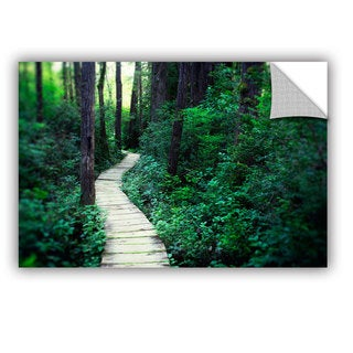 ArtAppealz Elena Ray 'Earth Path ' Removable Wall Art