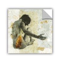 ArtAppealz Elena Ray 'Female With Opening Hand' Removable Wall Art