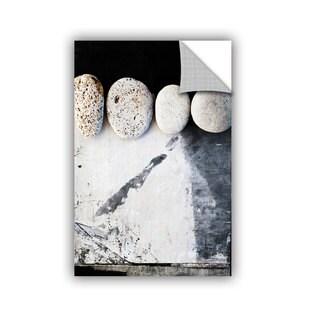 ArtAppealz Elena Ray 'Four Stones' Removable Wall Art