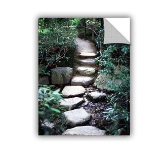 ArtAppealz Elena Ray 'Japanese Garden Path' Removable Wall Art
