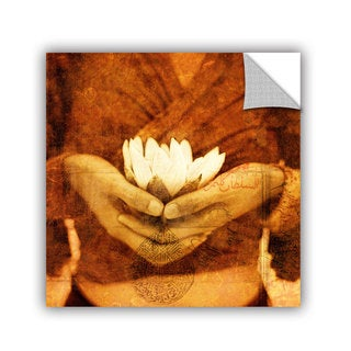 ArtAppealz Elena Ray 'Lotus' Removable Wall Art