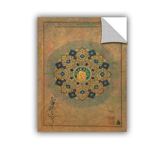 ArtAppealz Elena Ray 'Smiling Buddha' Removable Wall Art