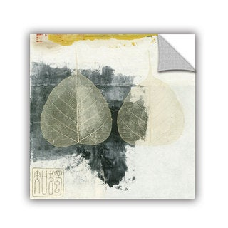 ArtAppealz Elena Ray 'Wabi-Sabi Bodhi Leaf Collage 4' Removable Wall Art