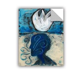 ArtAppealz Elena Ray 'Yoga Pranayama' Removable Wall Art