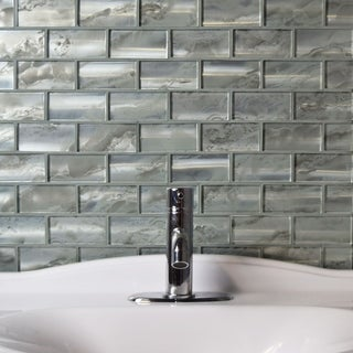 Blue Tile Overstock Com Shopping Floor Backsplash