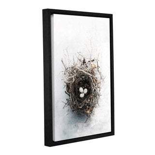 ArtWall Elena Ray 'Bird Nest' Gallery-wrapped Floater-framed Canvas