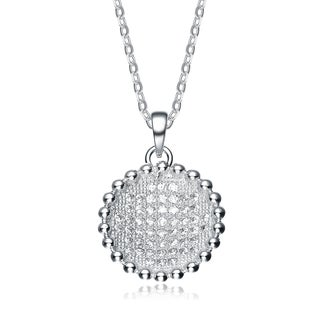 Collette Z Sterling Silver Cubic Zirconia Pendant