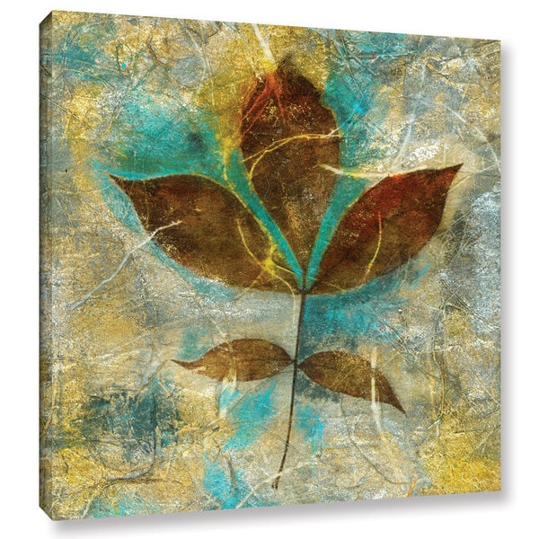 ArtWall Elena Ray 'Branch With Golden Leaves' Gallery-wrapped Canvas