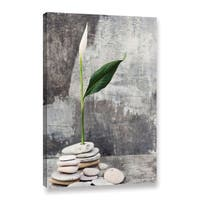 ArtWall Elena Ray 'Calla Lilly' Gallery-wrapped Canvas - Multi