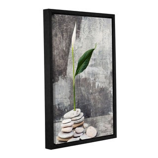 ArtWall Elena Ray 'Calla Lilly' Gallery-wrapped Floater-framed Canvas