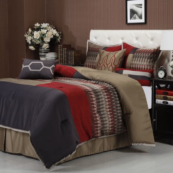 Nanshing Towers 7-piece Comforter Set