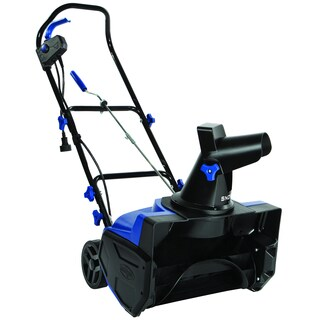 Snow Joe Ultra 18-In/13-Amp Black and Blue Electric Snow Thrower - 550 lbs. per minute (SJ618E)